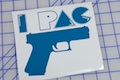 iPac Glock Sticker
