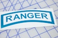 Army Ranger Badge Sticker