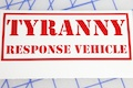 Tyranny Response Vehicle Sticker
