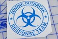 Zombie Outbreak Response Team Sticker