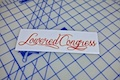Lowered Congress Printed Sticker