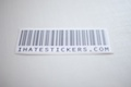 ihatestickers.com Barcode V2 Sticker