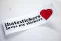 ihatestickers loves my stickers Sticker