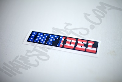 Infidel Flag Sticker