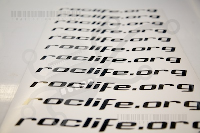 Roclife.org Diecut Sticker