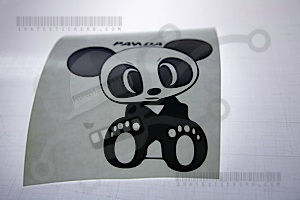 Team Panda Sticker