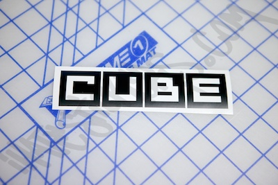 Nissan Cube Sticker
