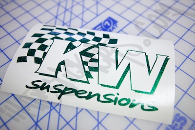 KW Suspension Sticker
