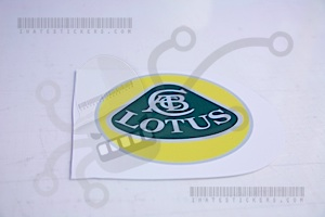Lotus Factory Logo Sticker