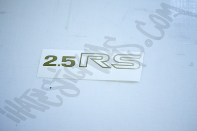 Subaru 2.5RS Sticker