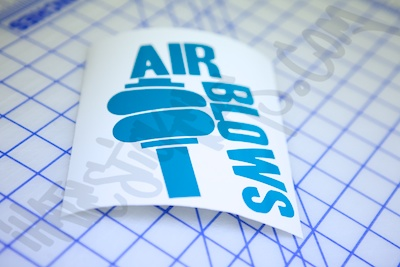 Air Blows Sticker