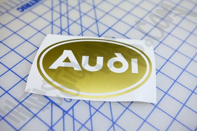 Audi Circle Logo Sticker