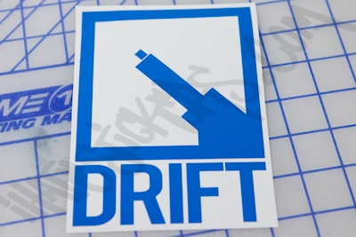 Drifter BadgeSticker