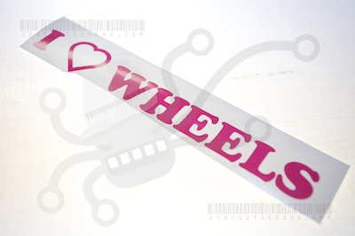 I Heart Wheels