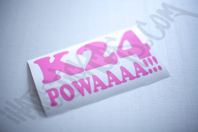 K24 Powaaaa! Sticker