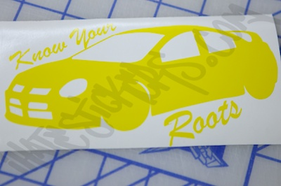 Know Your Roots Sticker