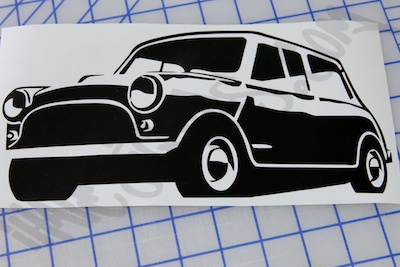 Old Mini Sticker