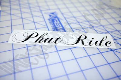 Phat Ride Sticker