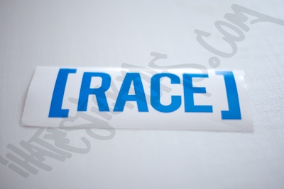 Race Bracket Sticker
