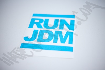 Run JDM Sticker