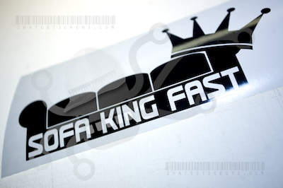 Sofa King Fast Couch