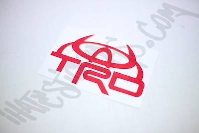 TRD Devil Sticker