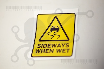 Sideways When Wet