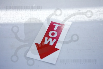 Tow Down Printed