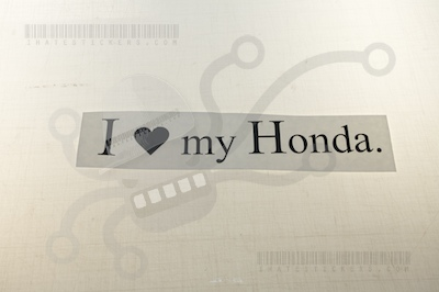 I heart my  Honda