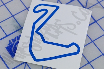 Carolina Motorsports Park Sticker