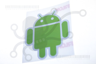 Android Printed Sticker