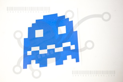 Pacman Blue Ghost
