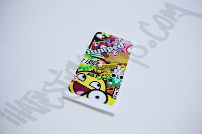 StickerBomb Phone Wrap