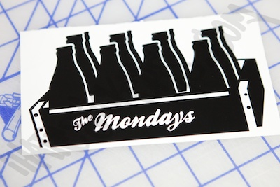 Case Of The Monday's Sticker