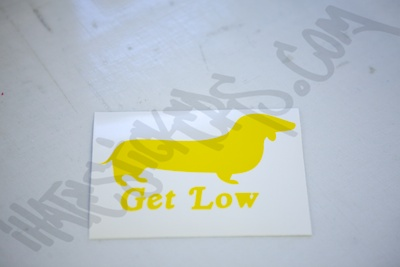 Get Low Sticker