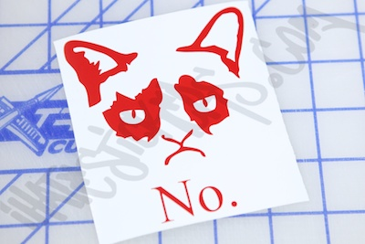 Grumpy Cat No Sticker