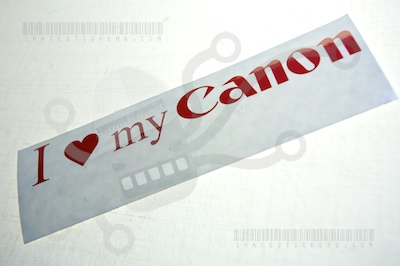 I Heart My Canon