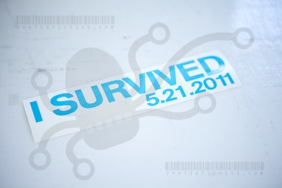 I Survived 5.21.2011