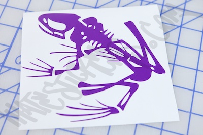 Navy Seal Frog Sticker