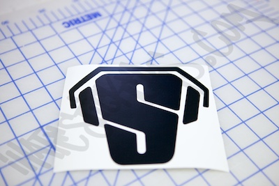Super Man Dj Die Cut Sticker