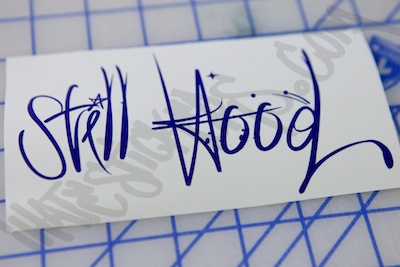 Still Hood Sticker