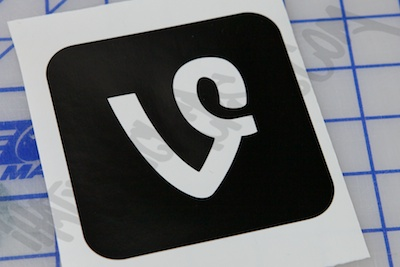 Vine Logo Sticker