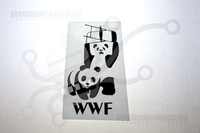 WWF Panda Sticker