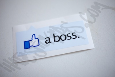 Like A Boss Facebook Sticker