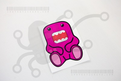 Domo Sitting Pink