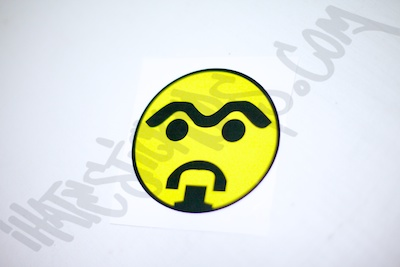 SuperDub Smiley Sticker