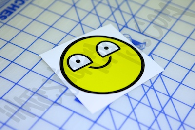 Very Happy Smiley Sticker