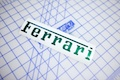 Ferrari Logo Die Cut Sticker