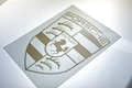 Porsche Shield Diecut