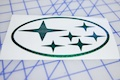 Subaru Six Star Logo Sticker